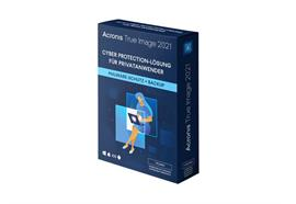 Acronis True Image Standard 2021 Vollversion, 1 PC