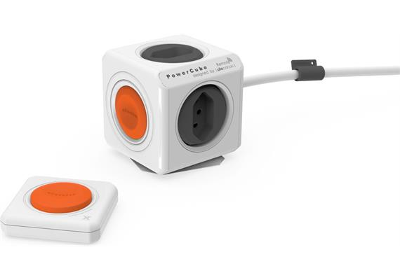 Allocacoc PowerCube Remote - weiss