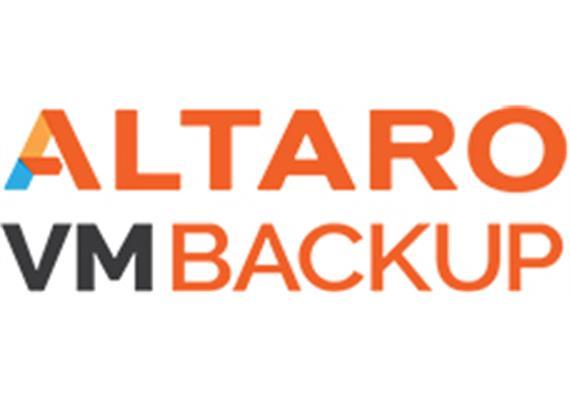 ALTARO VM Backup Standard Edition w 3Y SMA