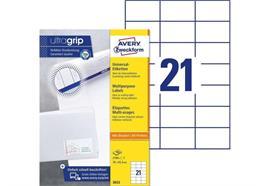 Avery Zweckform Universal-Etiketten 3652 70 x 42.3 mm