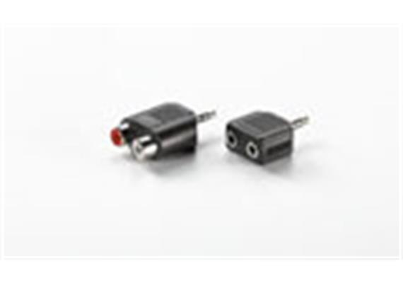BLANK 3.5mm Adapter 1x ST - 2x BU