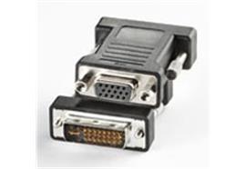 BLANK DVI / VGA Adapter, DVI ST / HD15 B