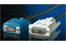 BLANK Monitorkabel DVI/VGA, DVI (12+5) ST - VGA ST, 2m