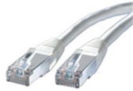 BLANK Patchkabel Kat.5e S/FTP grau 0.5m