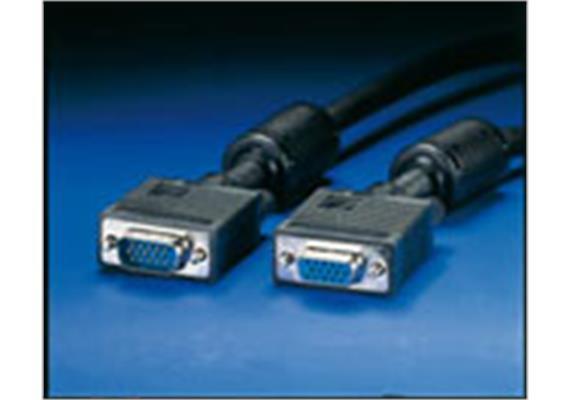 BLANK Quality Monitorkabel VGA, mit Ferritkern HD15 ST - ST, 3m