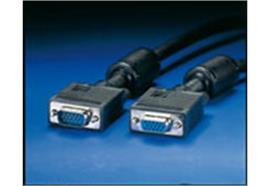 BLANK Quality Monitorkabel VGA, mit Ferritkern HD15 ST - ST, 6m