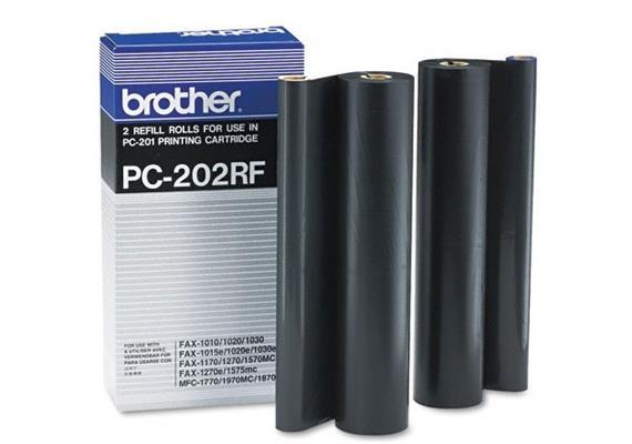 BROTHER Refill Filmrollen PC-202RF Fax-1010 2 Rollen
