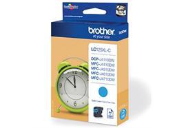 Brother Tinte LC125XL-C - cyan 1'200 Seiten