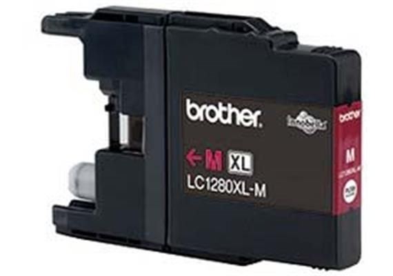 Brother Tinte LC1280M - magenta, 1'200 Seiten