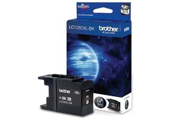 Brother Tinte LC1280XL-BK - schwarz, 2'400 Seiten
