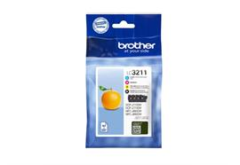 Brother Tinten LC-3211 - Multipack, 200 Seiten