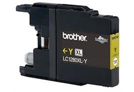 BROTHER Tintenpatrone HY yellow LC-1280Y MFC-J6510DW 1200 Seiten