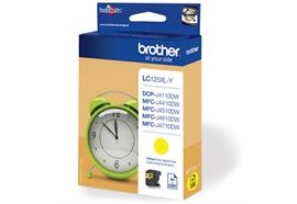 BROTHER Tintenpatrone XL yellow LC-125XLY 1'200 Seiten