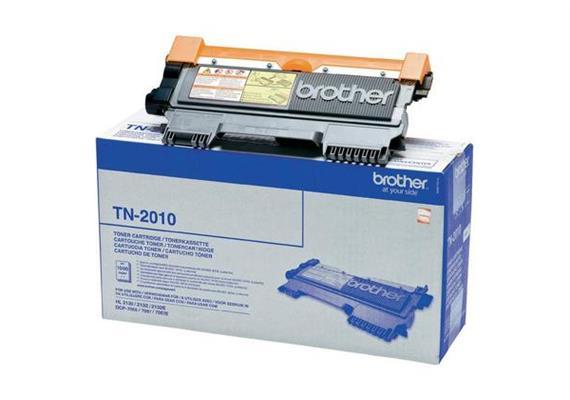 Brother Toner TN-2010 - schwarz, 1'000 Seiten