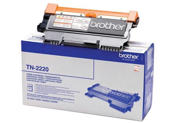 Brother Toner TN-2220 - schwarz, 2'600 Seiten