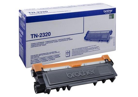 Brother Toner TN-2320 - schwarz, 2'600 Seiten
