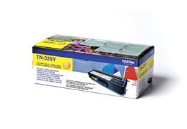 Brother Toner TN-325Y - HY gelb, 3'500 Seiten