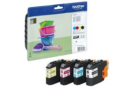 Brother Valuepack Tinte LC-221VAL - CMYBK, 260 Seiten
