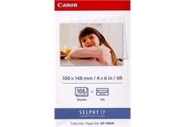 Canon Farbtinte/Papierset 10x14.8cm KP108IN CP 100/330 108 Blatt