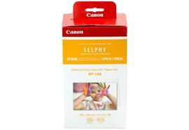 CANON Farbtinte/Papierset 10x14.8cm RP108 CP 820/910/1000 108 Blatt