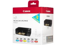 Canon Multipack Tinte CMY/PC/PM/R PGI-29 PIXMA Pro-1 6x36ml