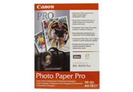 Canon Photo Paper MP-101 A4, 210 x 297 mm, 170g/m2, 50 Blatt, mattes Photopapier.