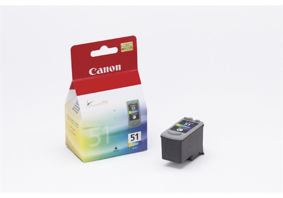 Canon Tinte CL-51- farbig (0618B001) 3x7 ml
