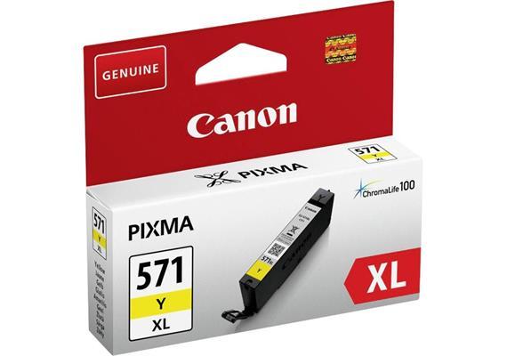 Canon Tinte CLI-571 XL - gelb, 11 ml