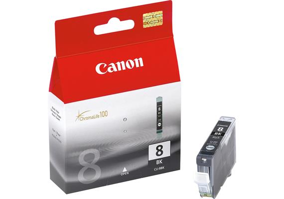 Canon Tinte CLI-8BK - schwarz, 13 ml
