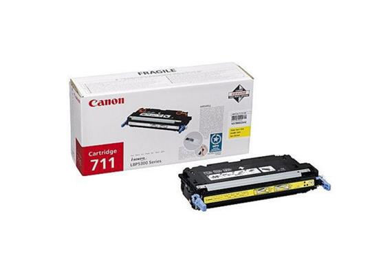Canon Toner 711 | - gelb, 6'000 Seiten