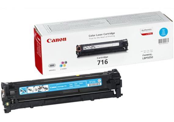 Canon Toner 716 | cyan | LBP5050 MF8050 | 1500 Seiten