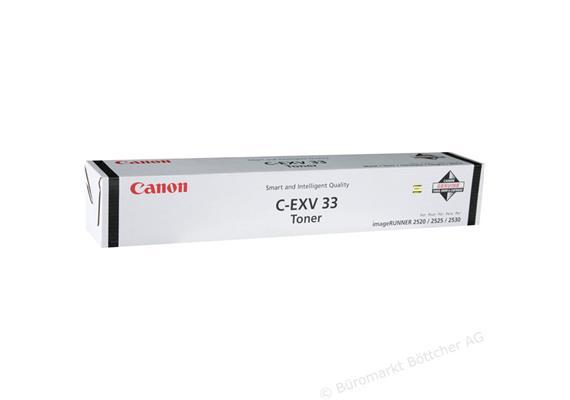 Canon Toner C-EXV 33 | schwarz | für IR 2520/2530 | 14'600 Seiten