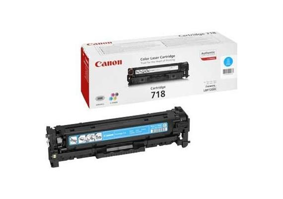 Canon Toner-Modul 718 cyan | 2'900 Seiten | zu MF8330C |