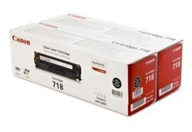 Canon Toner-Modul 718   schwarz   2x3'400 Seiten   zu LBP7200,7660,7680,8330,8340,8350,836