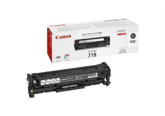 Canon Toner-Modul 718 schwarz | 3'400 Seiten | zu MF8330C |