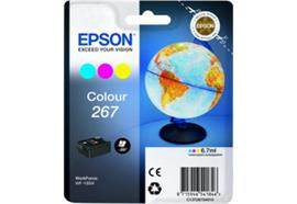 EPSON Tintenpatrone color T267040 Workforce WF-100W 200 Seiten