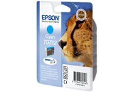 EPSON Tintenpatrone cyan T071240 Stylus DX4000 485 Seiten