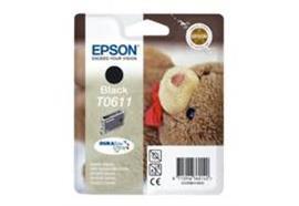EPSON Tintenpatrone schwarz T061140, C88/D68PE/DX4800/DX4850/DX4200/DX4250/DX38 250 Seiten