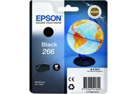 EPSON Tintenpatrone schwarz T266140 Workforce WF-100W 250 Seiten