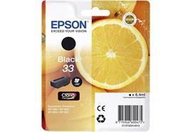 EPSON Tintenpatrone schwarz T333140 XP-530/630/830 250 Seiten