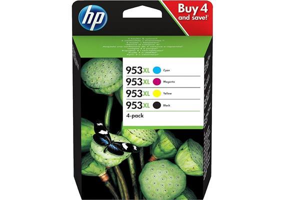 HP Combopack 953XL - CMYK (3HZ52AE)
