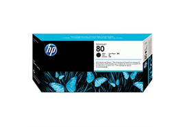 HP Druckkopf inkl. Druckkopfreiniger 80 - schwarz (C4820A)