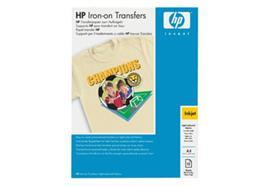 HP Iron-On T-Shirt Transferfolie C6050A, 10 Blatt zum Aufbügeln
