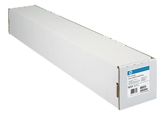 HP Plotterpapier, gestrichenes Papier Rolle A1 610mm x 45,7m 90g/m2 24 Zoll