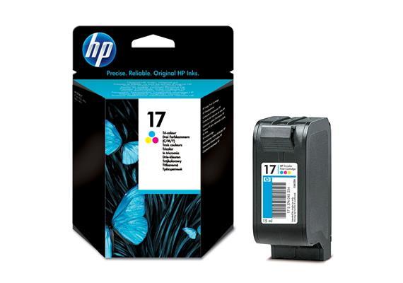 HP Tinte 17 - farbig (C6625A) 480 Seiten