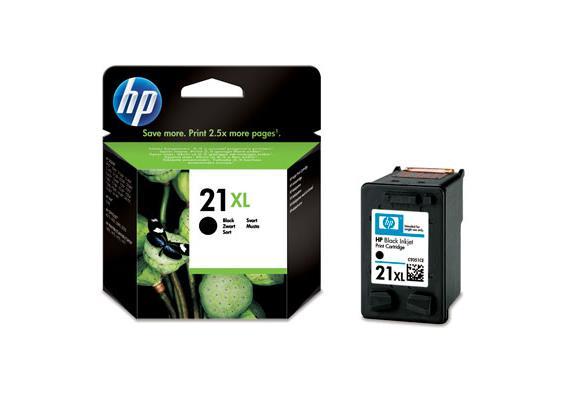 HP Tinte 21XL - Schwarz (C9351CE) 475 Seiten