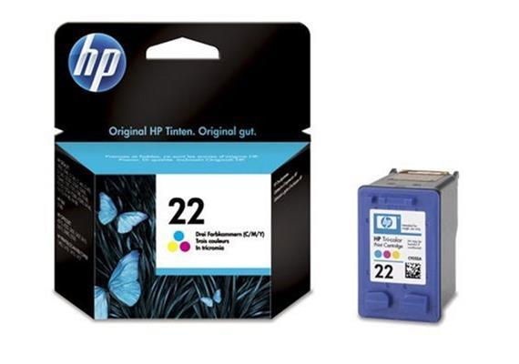HP Tinte 22 - Farbig (C9352AE) 165 Seiten