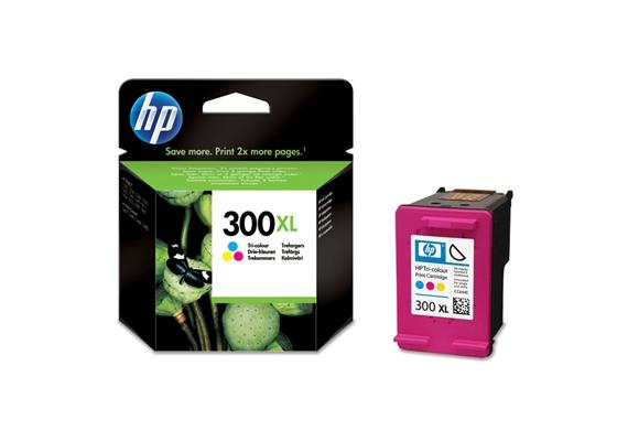 HP Tinte 300XL - farbig (CC644EE) 440 Seiten
