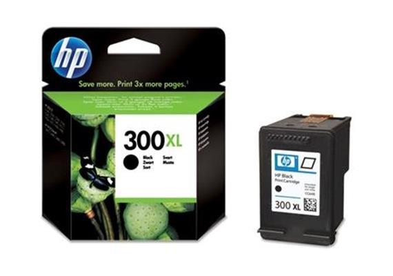HP Tinte 300XL - Schwarz (CC641EE) 600 Seiten