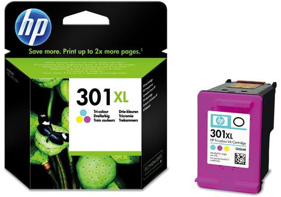 HP Tinte 301XL - farbig (CH564EE) 330 Seiten